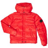 Textil Chlapecké Prošívané bundy Diesel JSMITHYAWH Červená