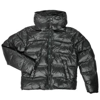 Textil Chlapecké Prošívané bundy Diesel JSMITHYAWH Černá