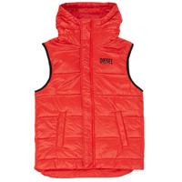 Textil Chlapecké Prošívané bundy Diesel JSUNNY Červená