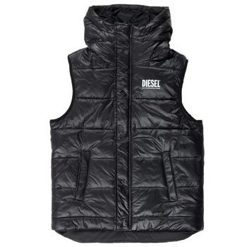 Textil Chlapecké Prošívané bundy Diesel JSUNNY Černá