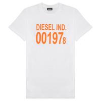 Textil Děti Trička s krátkým rukávem Diesel TDIEGO1978 Bílá