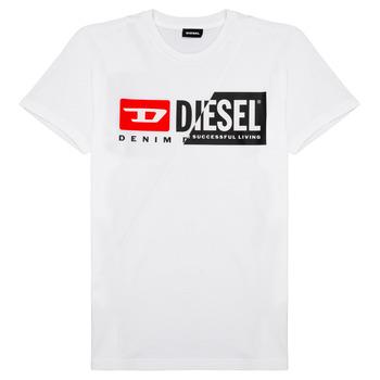 Textil Děti Trička s krátkým rukávem Diesel TDIEGOCUTY Bílá