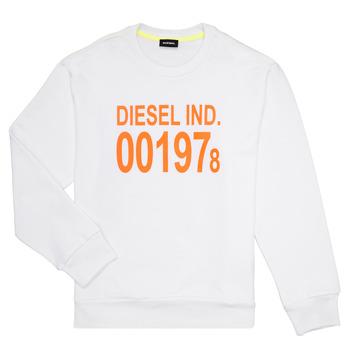 Textil Děti Mikiny Diesel SGIRKJ3 Bílá