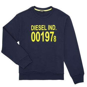 Textil Děti Mikiny Diesel SGIRKJ3 Modrá