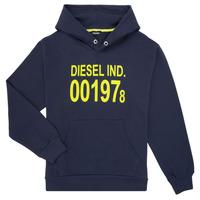 Textil Děti Mikiny Diesel SGIRKHOOD Modrá
