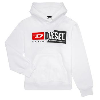 Textil Děti Mikiny Diesel SGIRKHOODCUTY Bílá