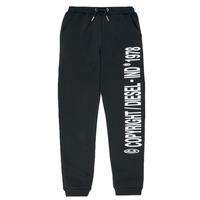 Textil Chlapecké Teplákové kalhoty Diesel PLAMPCOPY Černá