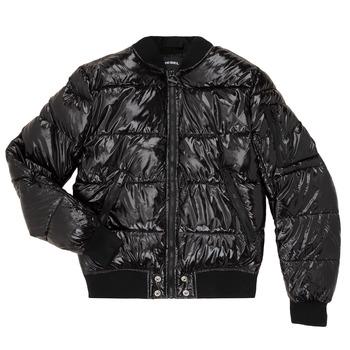 Textil Děti Prošívané bundy Diesel JONY Černá