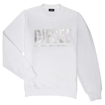 Textil Dívčí Mikiny Diesel SANGWX Bílá