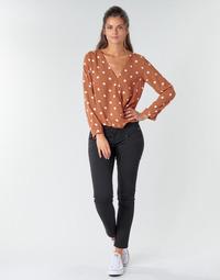 Textil Ženy Kapsáčové kalhoty Freeman T.Porter ALEXA CROPPED S-SDM Černá
