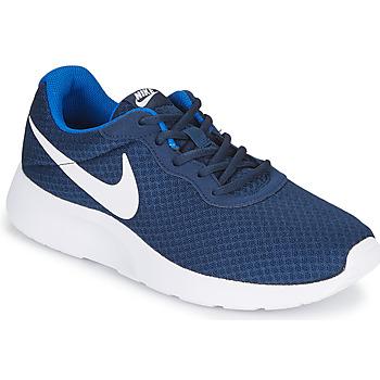 Boty Muži Nízké tenisky Nike TANJUN Modrá / Bílá