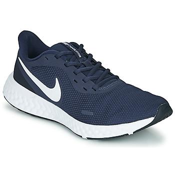 Boty Muži Běžecké / Krosové boty Nike REVOLUTION 5 Modrá