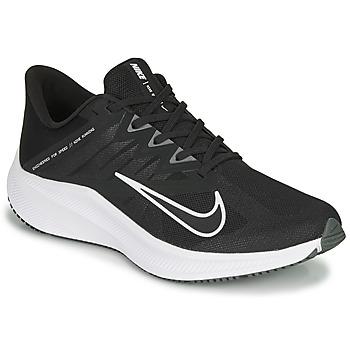 Boty Muži Běžecké / Krosové boty Nike QUEST 3 Černá / Bílá