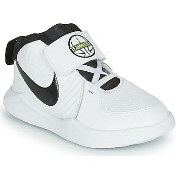 Boty Chlapecké Basketbal Nike TEAM HUSTLE D 9 TD Bílá / Černá