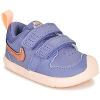 Boty Dívčí Nízké tenisky Nike PICO 5 TD Fialová / Růžová