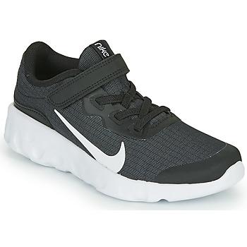 Boty Děti Nízké tenisky Nike EXPLORE STRADA PS Černá / Bílá