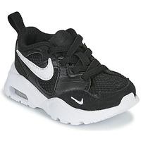 Boty Děti Nízké tenisky Nike AIR MAX FUSION TD Černá / Bílá