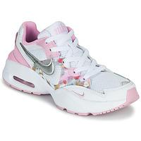 Boty Dívčí Nízké tenisky Nike AIR MAX FUSION SE GS Bílá / Růžová