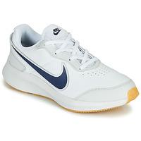Boty Chlapecké Nízké tenisky Nike VARSITY LEATHER GS Bílá / Modrá