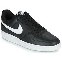 Boty Muži Nízké tenisky Nike COURT VISION LOW Černá / Bílá