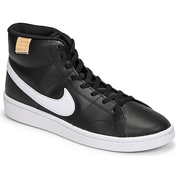 Boty Muži Nízké tenisky Nike COURT ROYALE 2 MID Černá / Bílá