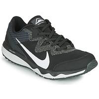 Boty Muži Běžecké / Krosové boty Nike JUNIPER TRAIL Černá / Bílá