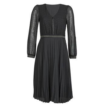 Textil Ženy Krátké šaty One Step FR30061 Černá