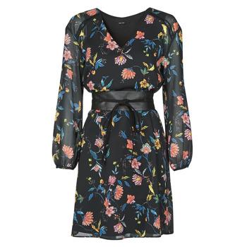 Textil Ženy Krátké šaty One Step FR30301 Černá
