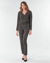 Textil Ženy Overaly / Kalhoty s laclem One Step FR32021_02 Černá