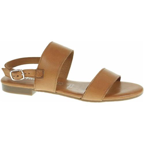 Boty Ženy Sandály Tamaris Dámské sandály  1-28133-24 cuoio Hnědá