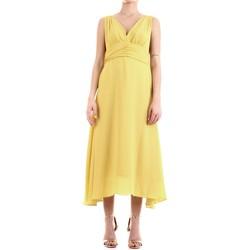 Textil Ženy Společenské šaty Fly Girl 9845-01 Žlutá