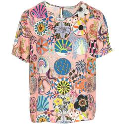 Textil Ženy Trička s krátkým rukávem Paul Smith Top Růžová