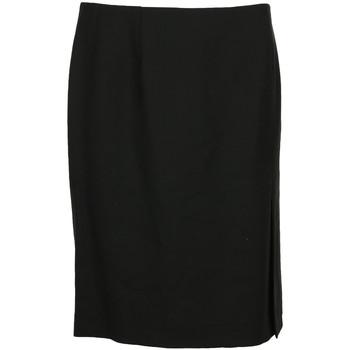 Textil Ženy Sukně Paul Smith Jupe courte droite laine Černá