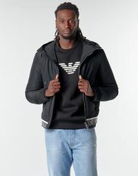 Textil Muži Bundy Emporio Armani 6H1BL6 Černá