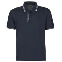 Textil Muži Polo s krátkými rukávy Emporio Armani 6H1F79 Tmavě modrá