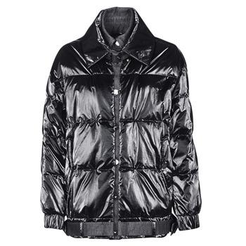 Textil Ženy Prošívané bundy Emporio Armani 6H2B97 Černá