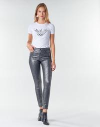 Textil Ženy Kapsáčové kalhoty Emporio Armani 6H2J20 Šedá / Stříbřitá