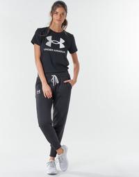 Textil Ženy Teplákové kalhoty Under Armour RIVAL FLEECE JOGGERS Černá