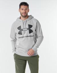 Textil Muži Mikiny Under Armour UA RIVAL FLEECE BIG LOGO HD Šedá / Světlá