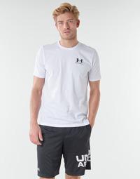 Textil Muži Trička s krátkým rukávem Under Armour SPORTSTYLE LEFT CHEST SS Bílá