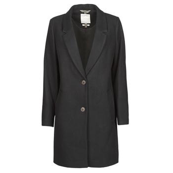 Textil Ženy Kabáty Esprit LL* BASICBLZRCT Černá