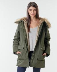 Textil Ženy Parky Esprit LL*3M FEM PARKA Khaki