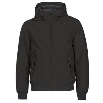Textil Muži Prošívané bundy Esprit LL 3LSOFTSHEL Černá