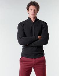 Textil Muži Svetry Esprit COWS STR HZ Černá