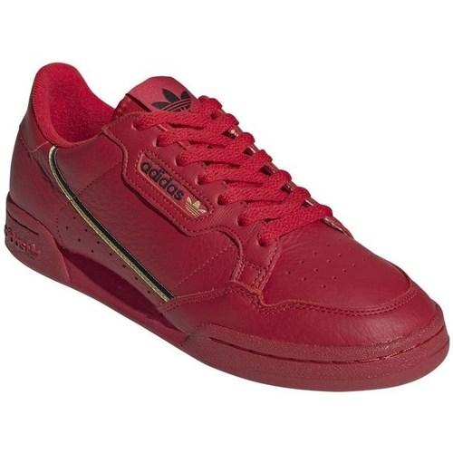 Boty Muži Nízké tenisky adidas Originals Continental 80 Červené, Vínově červené
