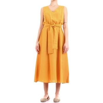 Textil Ženy Společenské šaty Fly Girl 9890-02 Žlutá