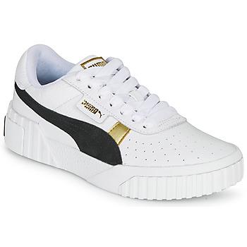 Boty Ženy Nízké tenisky Puma CALI VARSITY Bílá / Černá