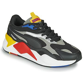 Boty Nízké tenisky Puma RS-X3 Černá / Červená / Žlutá