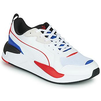 Boty Muži Nízké tenisky Puma X-RAY Bílá / Modrá / Červená
