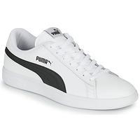 Boty Muži Nízké tenisky Puma SMASH Bílá / Černá